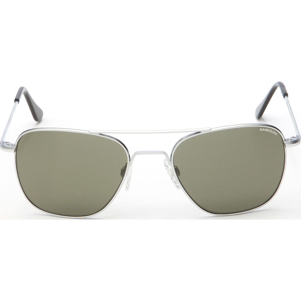 Randolph Engineering Aviator Matte Chrome | Gray Skull- Af030