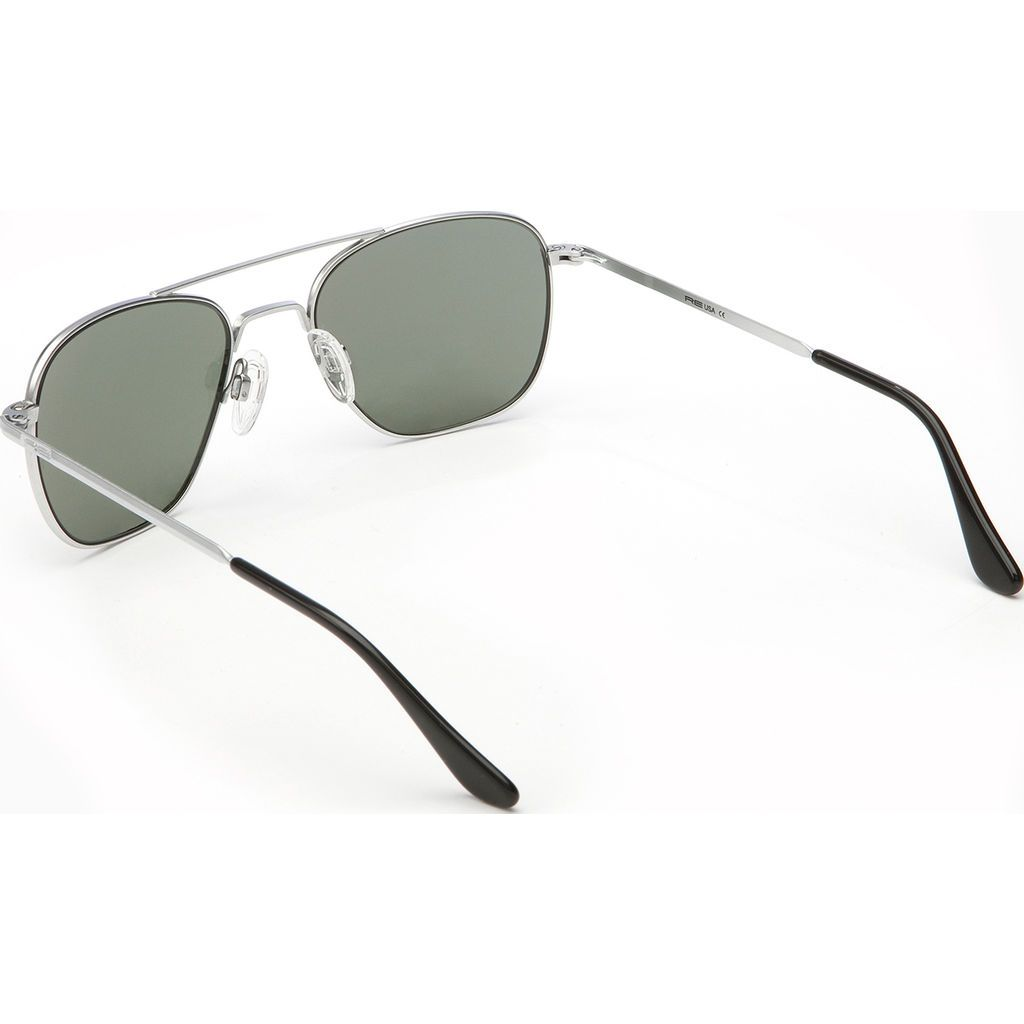 b0788f4710 Randolph Engineering Aviator Matte Chrome Skull Sunglasses
