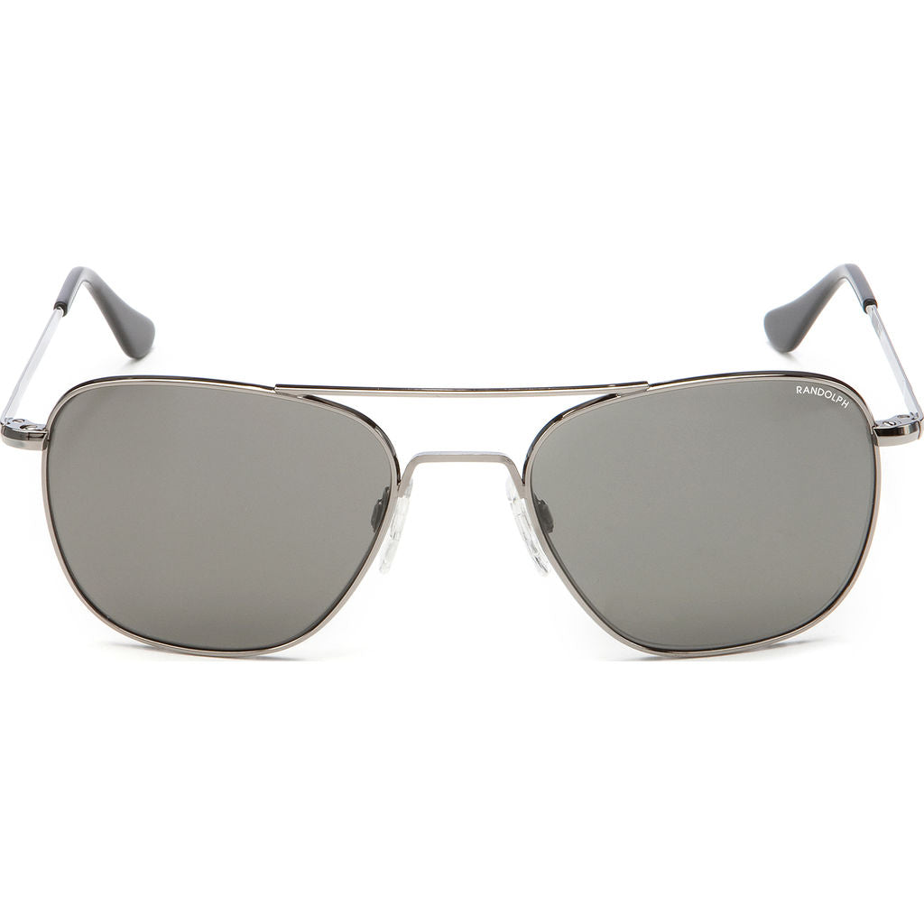 Randolph Engineering Aviator Gun Metal | Gray Polarized Skull- Af043