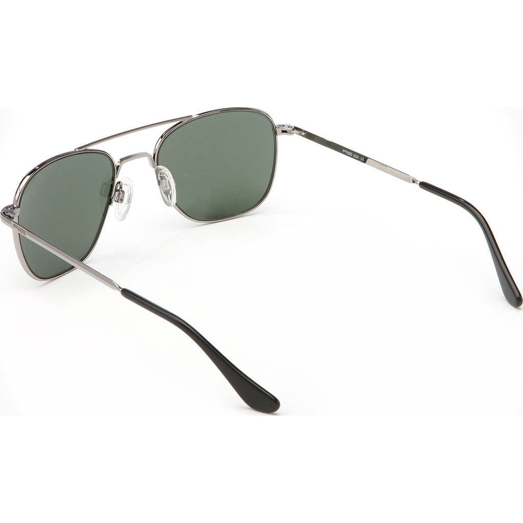Randolph Engineering Aviator Gun Metal Sunglasses | AGX Polarized Skull AR