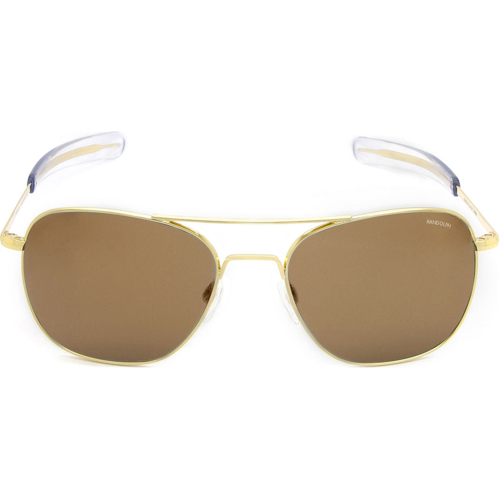 Randolph Engineering Aviator Gold 23K | Tan Polarized Bayonet- Af057
