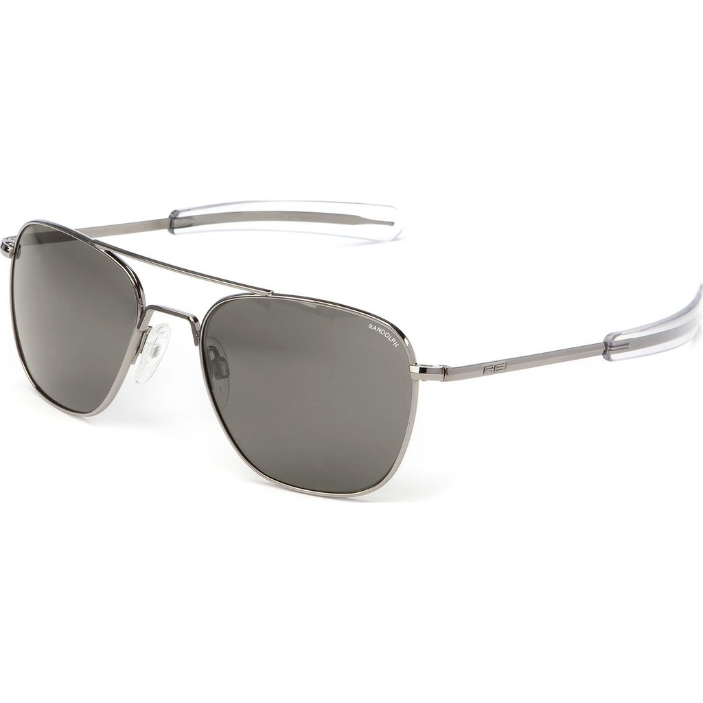 Randolph Engineering Aviator Bayonet Sunglasses | Gun Metal -Gray AR Af231 55mm