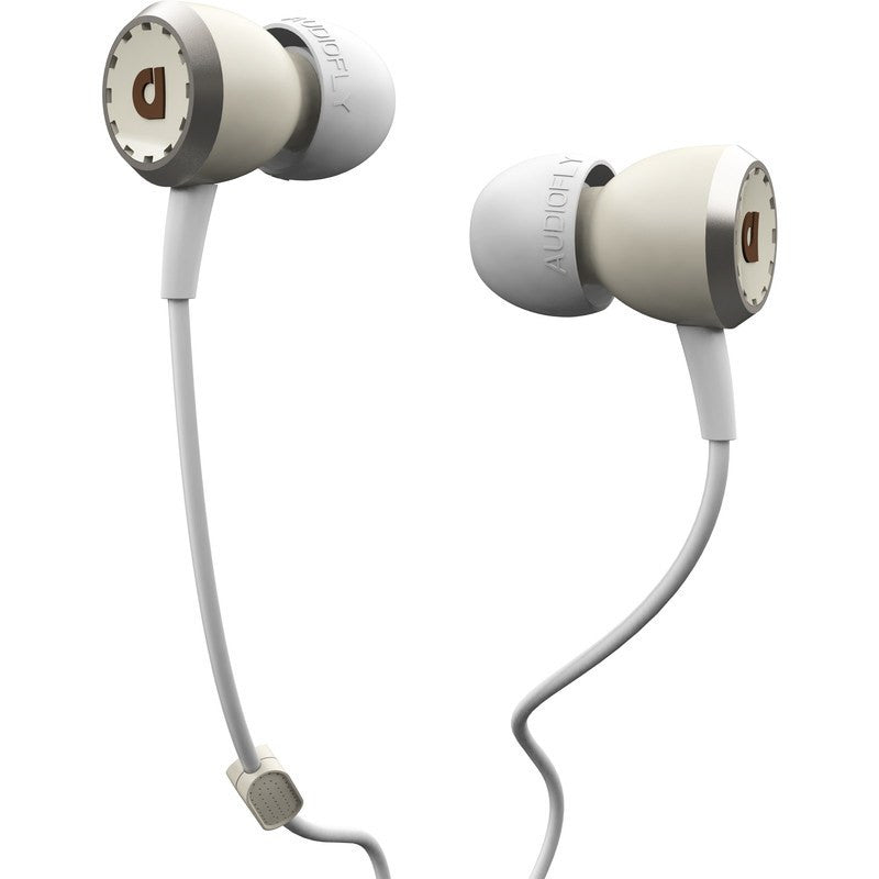 Audiofly AF33M In-Ear Headphone with Clear-Talk™ | Snare White