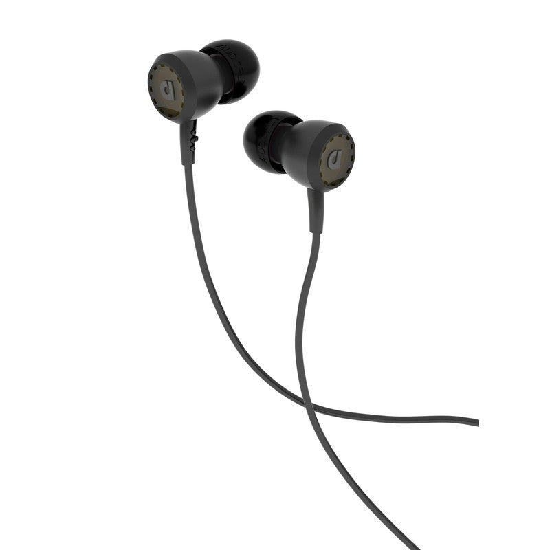 Audiofly 33 Series In-Ear Headphone | Slycat Black AF331-0-0