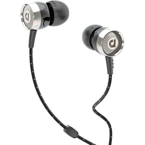 Audiofly AF45M In-Ear Headphone with Clear-Talk™ | Wax Black