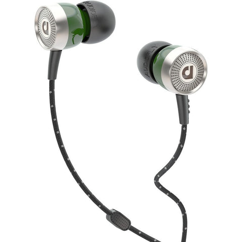 Audiofly AF45M In-Ear Headphone with Clear-Talk™ | Bottle Green