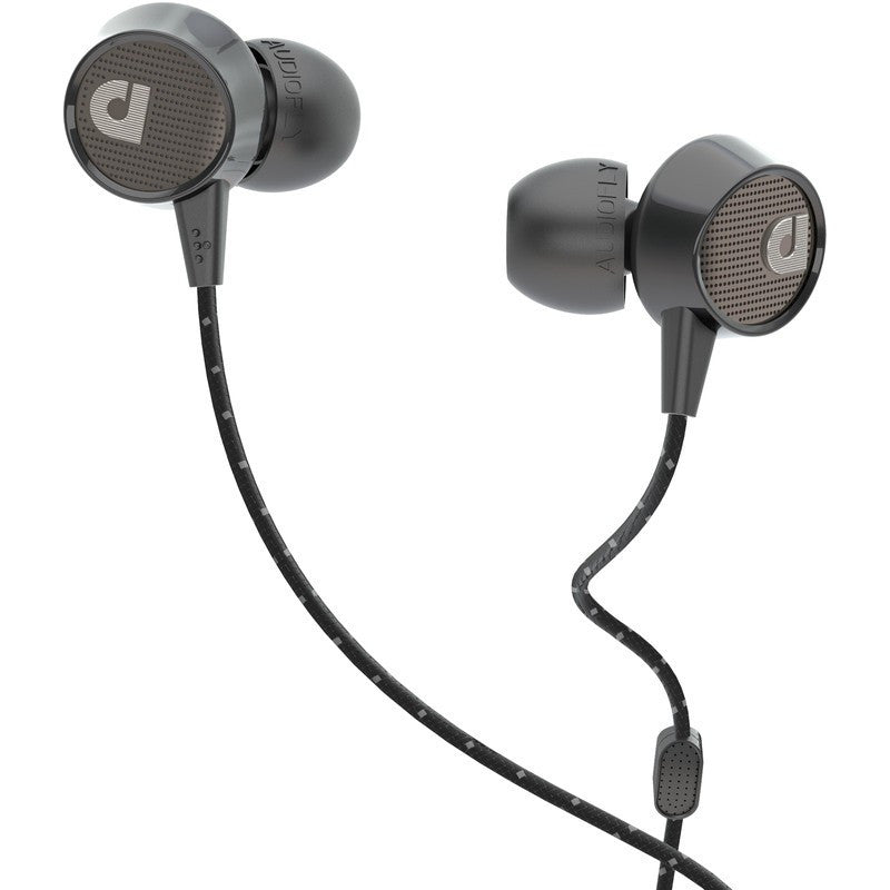 Audiofly AF56M In-Ear Headphone with Clear-Talk™ | Edison Black