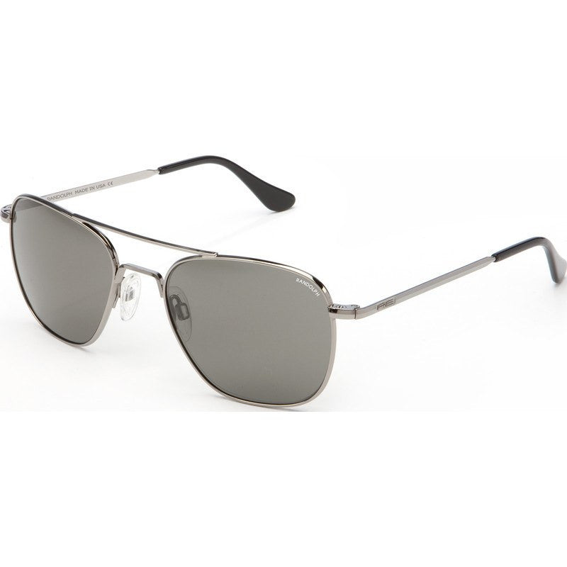 Randolph Engineering Aviator Gunmetal Sunglasses | Gray Skull