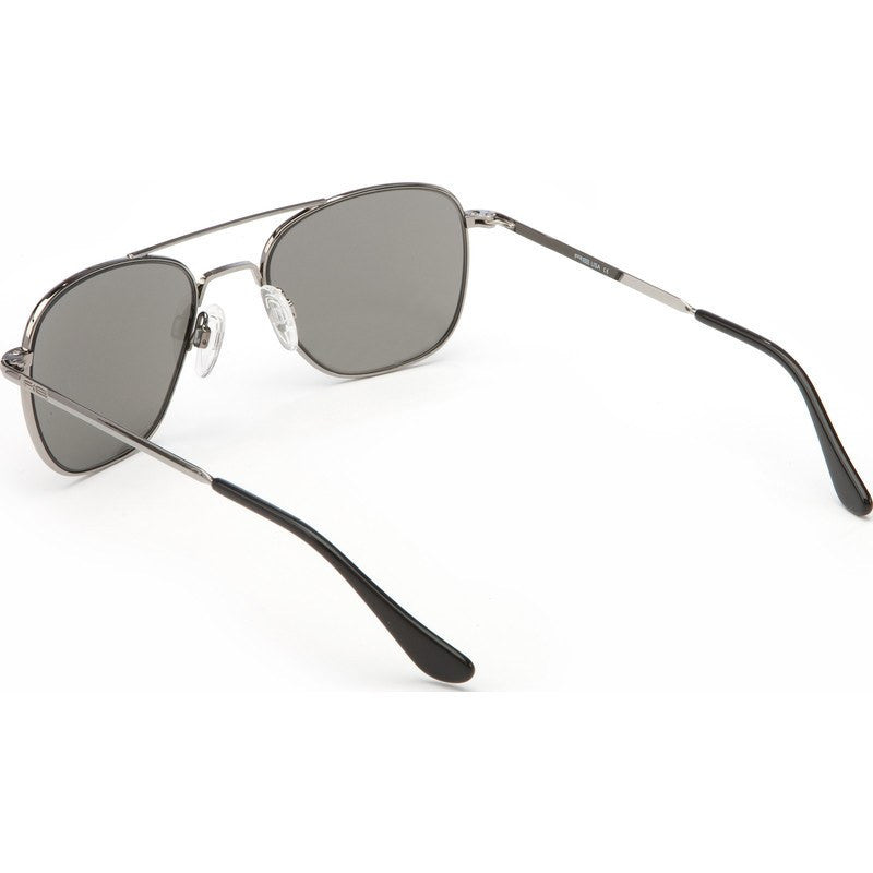 Randolph Engineering Aviator Gunmetal Sunglasses | Gray Polarized Skull