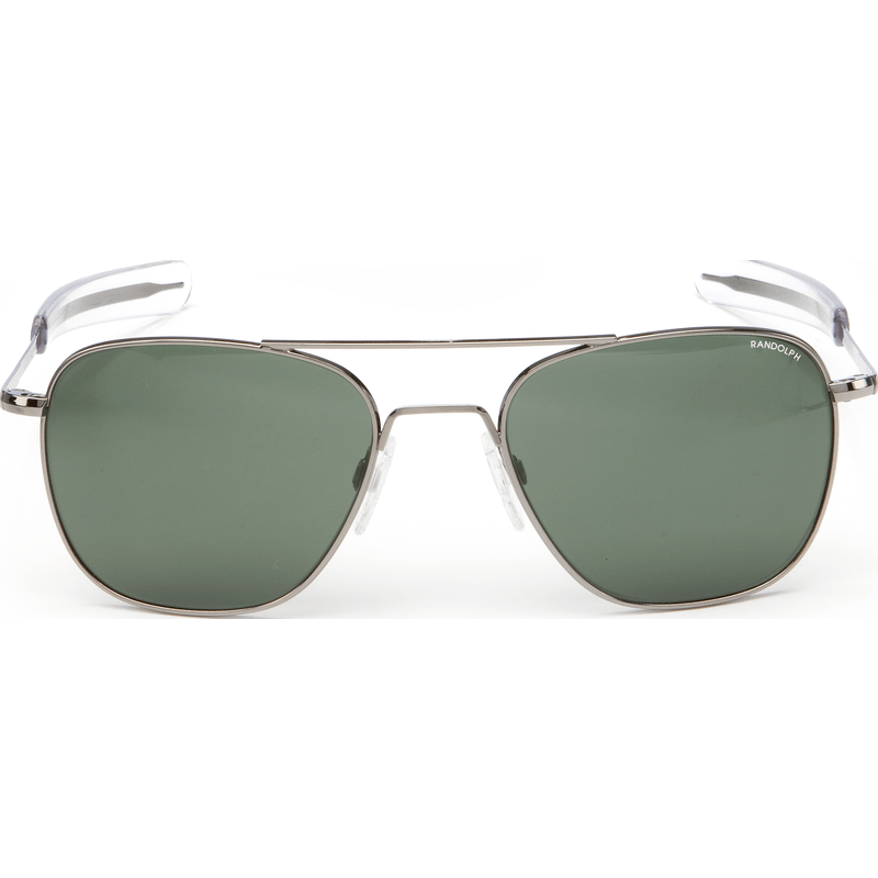 Randolph Engineering Aviator Gunmetal Sunglasses | AGX Glass Bayonet 58MM AF8R614