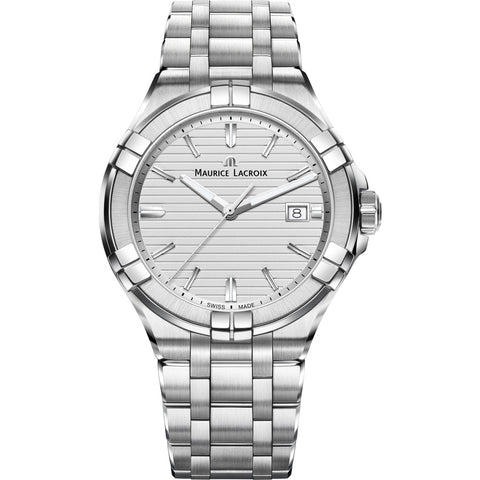 Maurice Lacroix Men's Aikon 42mm Watch | Silver AI1008-SS002-131-1