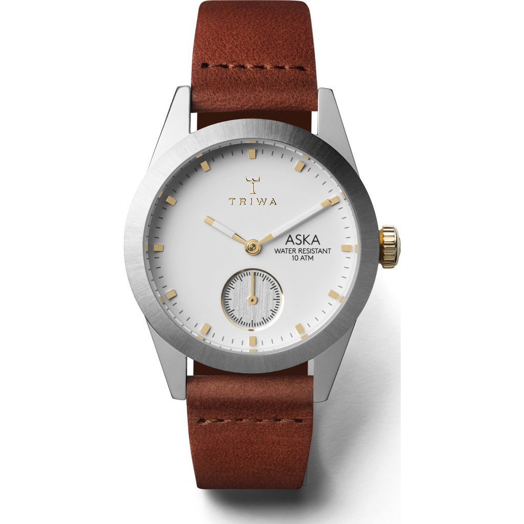 Triwa Snow Aska Watch | Brown Classic