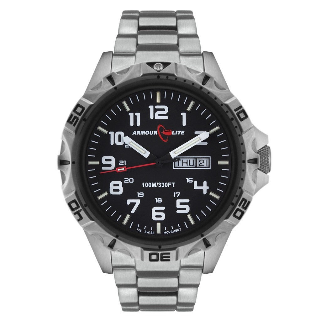 Armourlite Professional AL1401 Silver Watch | Steel