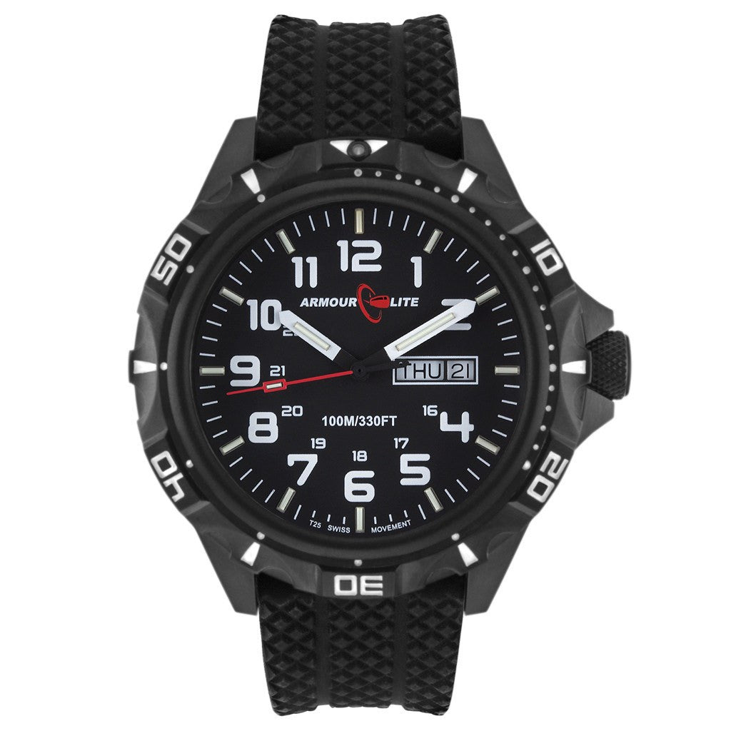 Armourlite Professional AL1412 Black Watch | Rubber