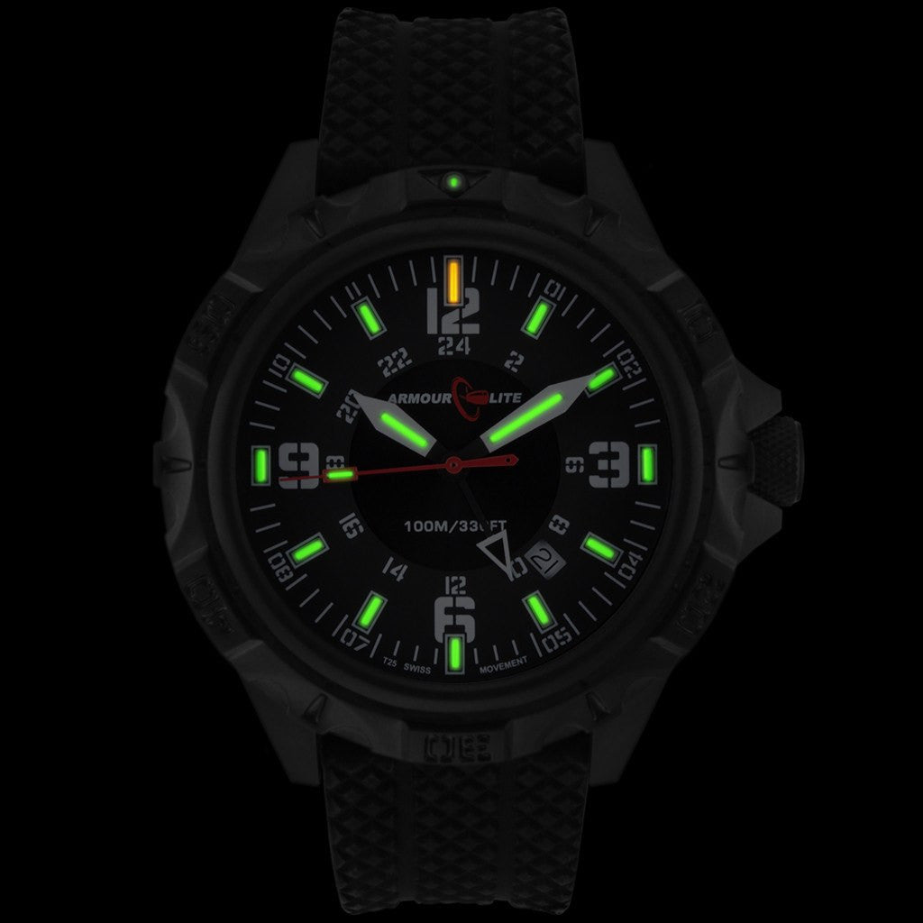Armourlite Professional AL1413 Black Watch | Rubber