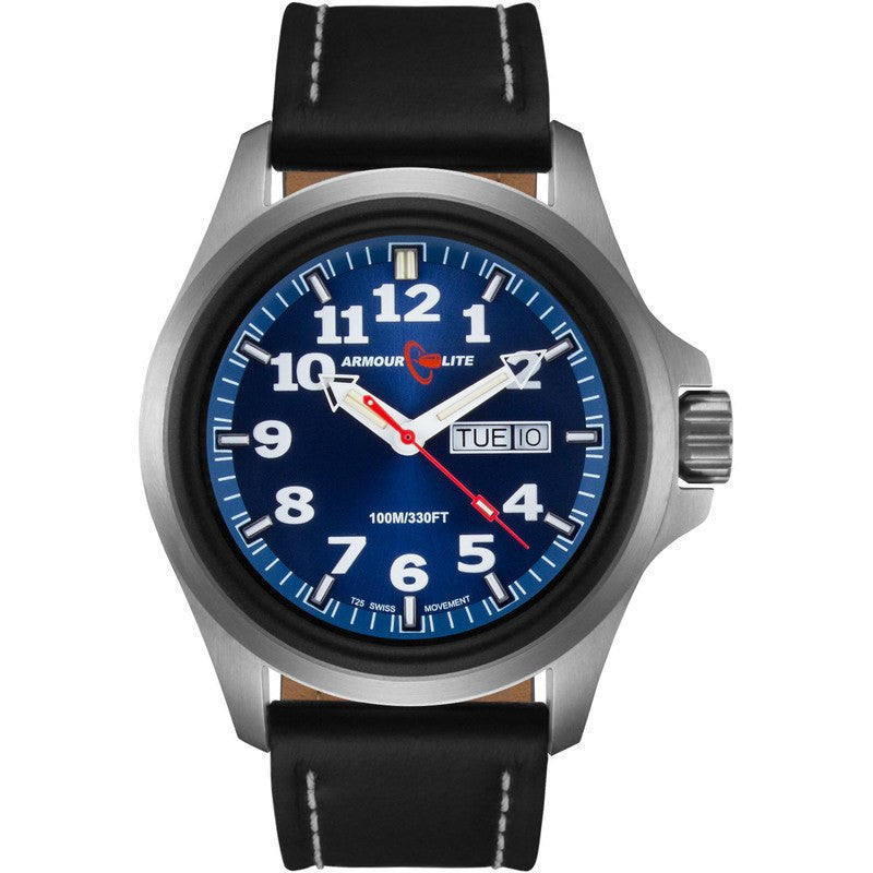Armourlite Officer Series AL803 Men's Watch Blue-Blue | Leather
