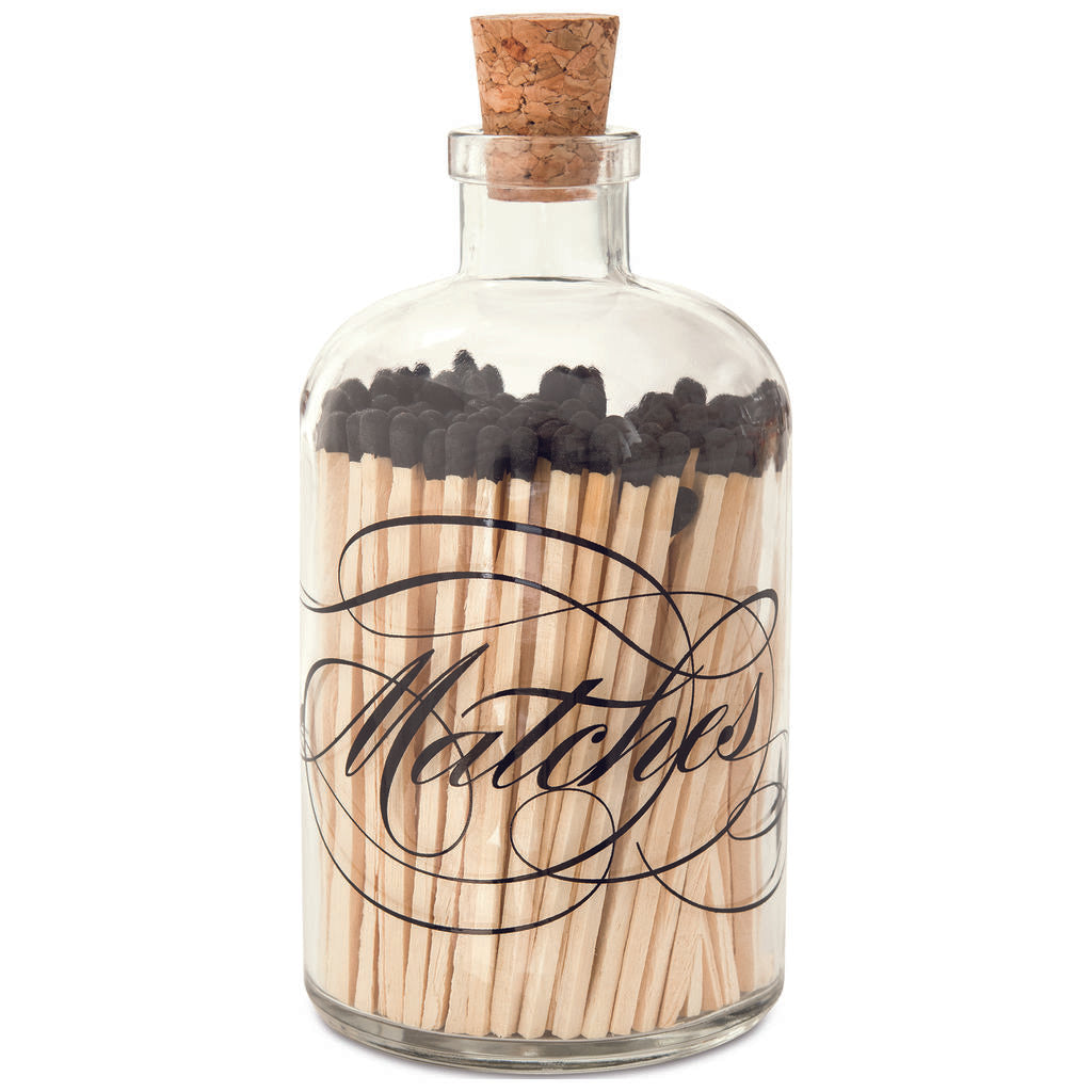 Skeem Design Large Apothecary Calligraphy Matches- AM1