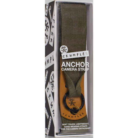 Crumpler Anchor Camera Strap | Rifle Logo ANR001-G02000