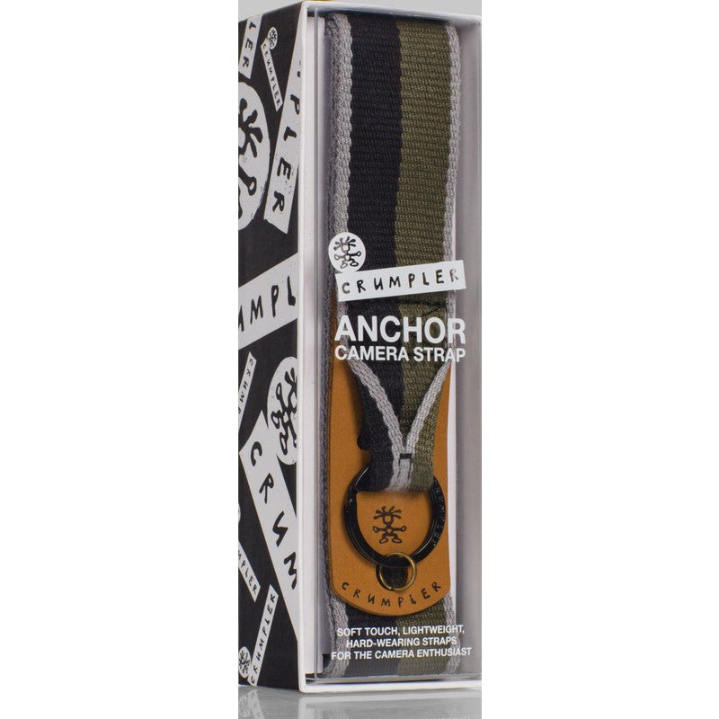 Crumpler Anchor Camera Strap | Rifle/Black Stripe ANR001-G12000