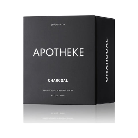 Apotheke Signature Candle | Charcoal AP01-CH