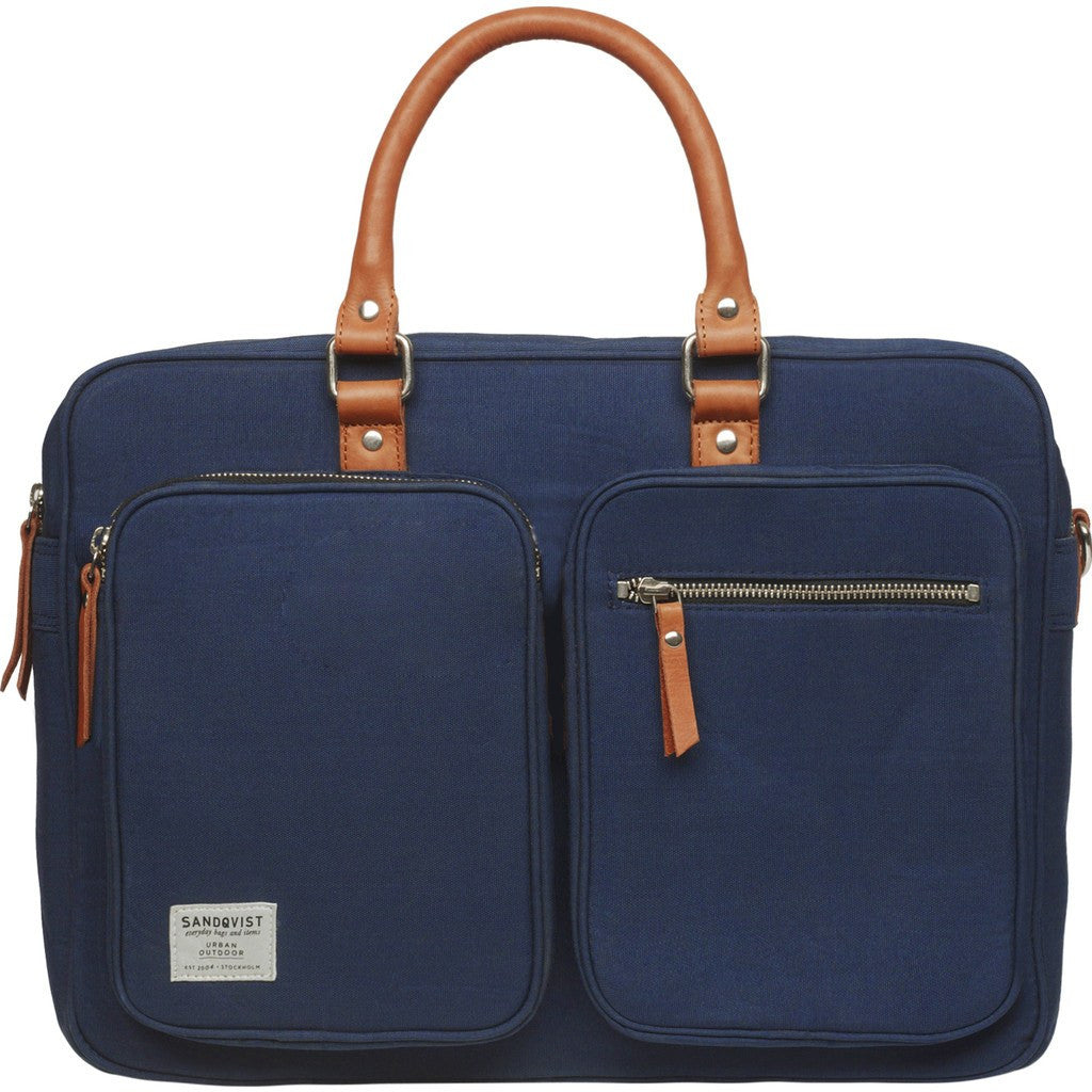 Sandqvist Arne Laptop Briefcase | Blue SQA493