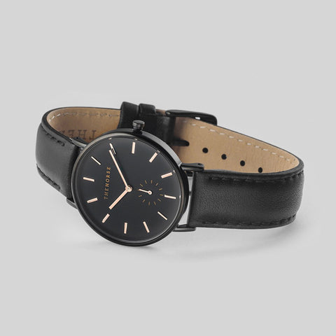 The Horse Classic Black Watch | Black AS01- B4
