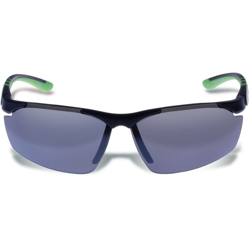 Gargoyles Assault Matte Black Sunglasses | Smoke/Silver/Polarized
