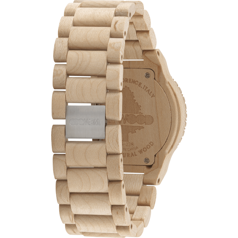 WeWood Assunt Maple Wood Watch | Beige