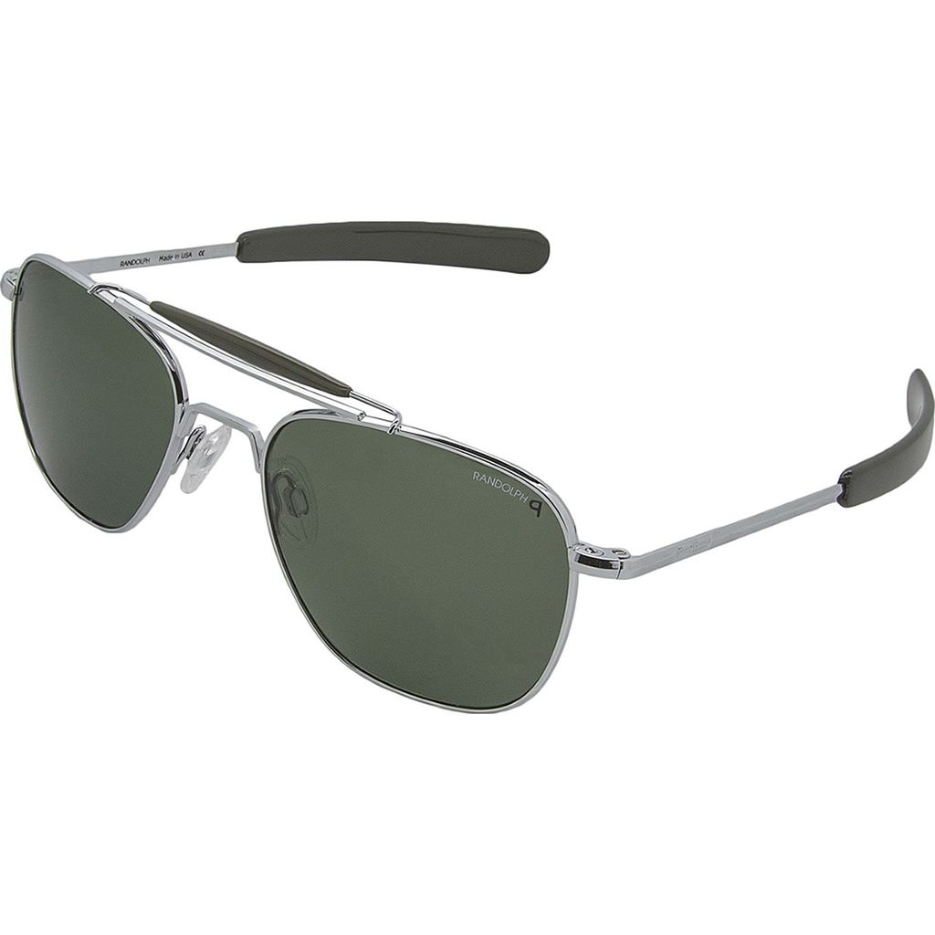 6715d15993 Randolph Engineering Aviator II Bright Chrome Bayonet Sunglasses ...