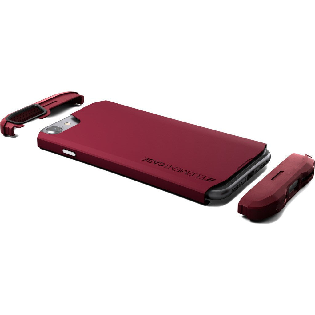 Element Case Aura iPhone 7 Case | Deep Red EMT-322-100DZ-11