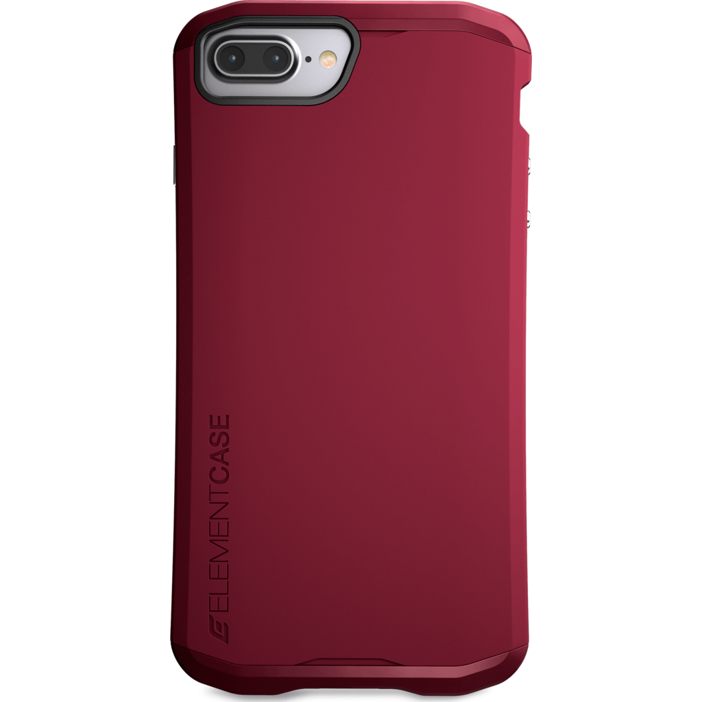 Element Case Aura for iPhone 7 Plus | Deep Red EMT-322-100EZ-11