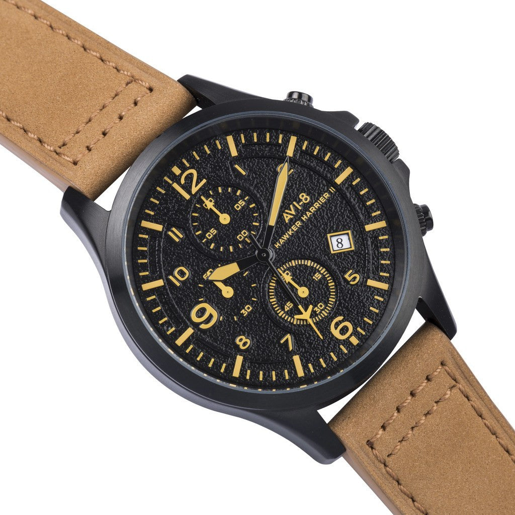 AVI-8 Hawker Harrier II AV-4001-09 Chronograph Watch | Tan AV-4001-09