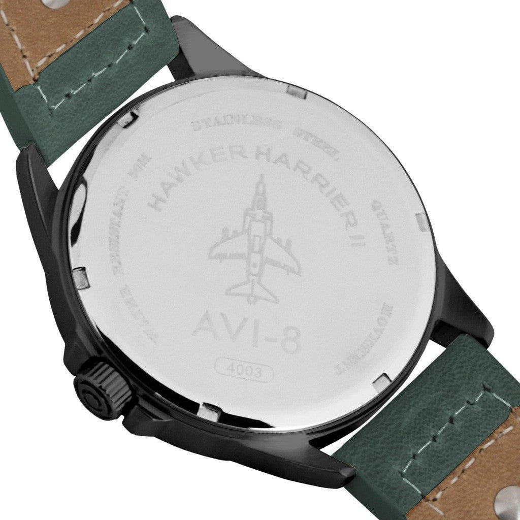 AVI-8 Hawker Harrier II AV-4003-04 Watch | Green AV-4003-04