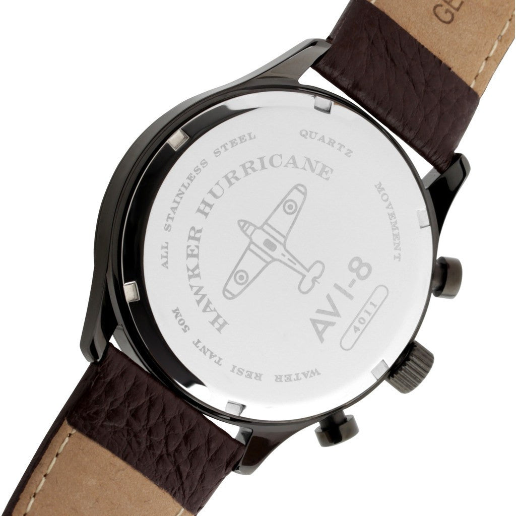 AVI-8 Hawker Hurricane AV-4011-01 Chronograph Watch | Brown AV-4011-01