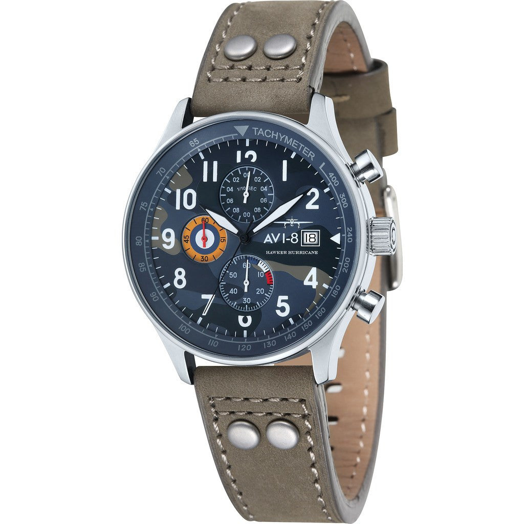 AVI-8 Hawker Hurricane AV-4011-08 Chronograph Watch | Beige AV-4011-08