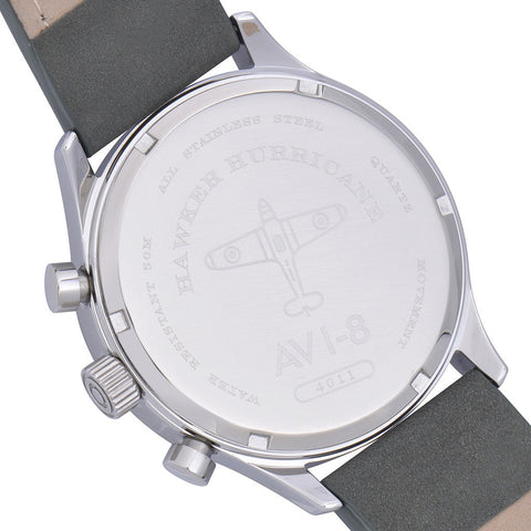 AVI-8 Hawker Hurricane AV-4011-0A Chronograph Watch | Grey AV-4011-0A