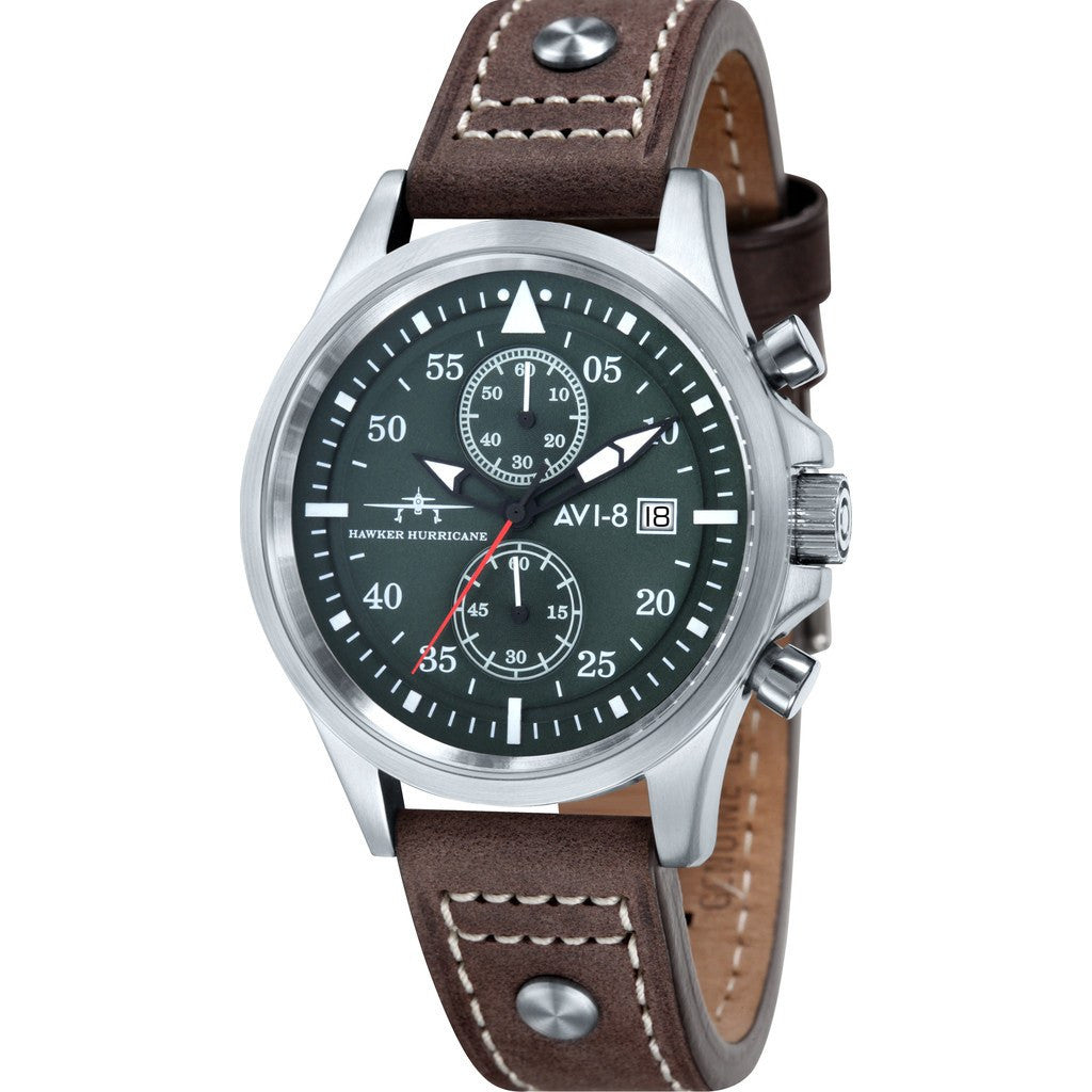 AVI-8 Hawker Hurricane AV-4013-03 Chronograph Watch | Brown AV-4013-03