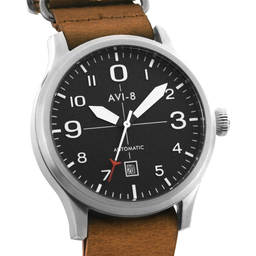 AVI-8 Flyboy AV-4021-01 Automatic Watch | Tan AV-4021-01