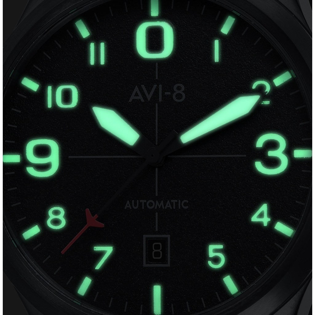 AVI-8 Flyboy AV-4021-0F Automatic Watch | Black AV-4021-0F