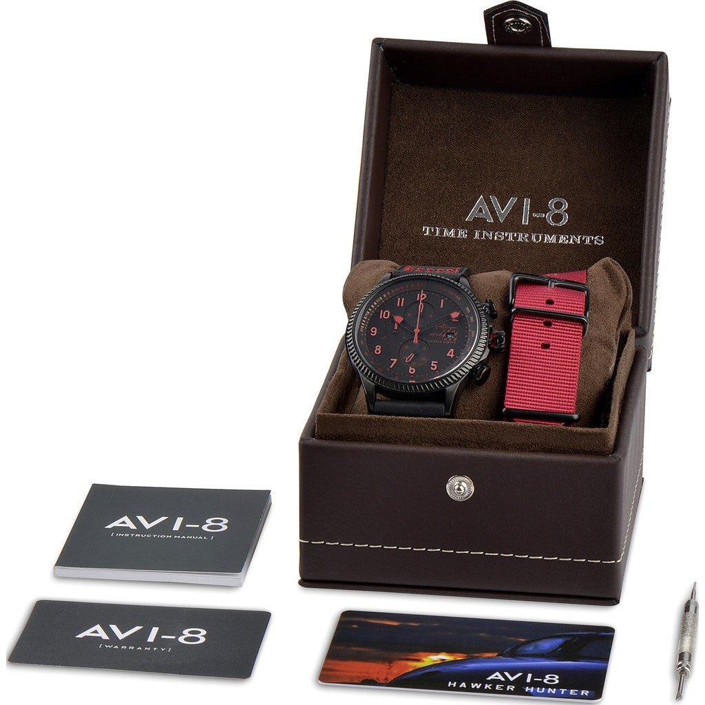 AVI-8 Hawker Hunter AV-4036-03 Chronograph Watch | Black AV-4036-03