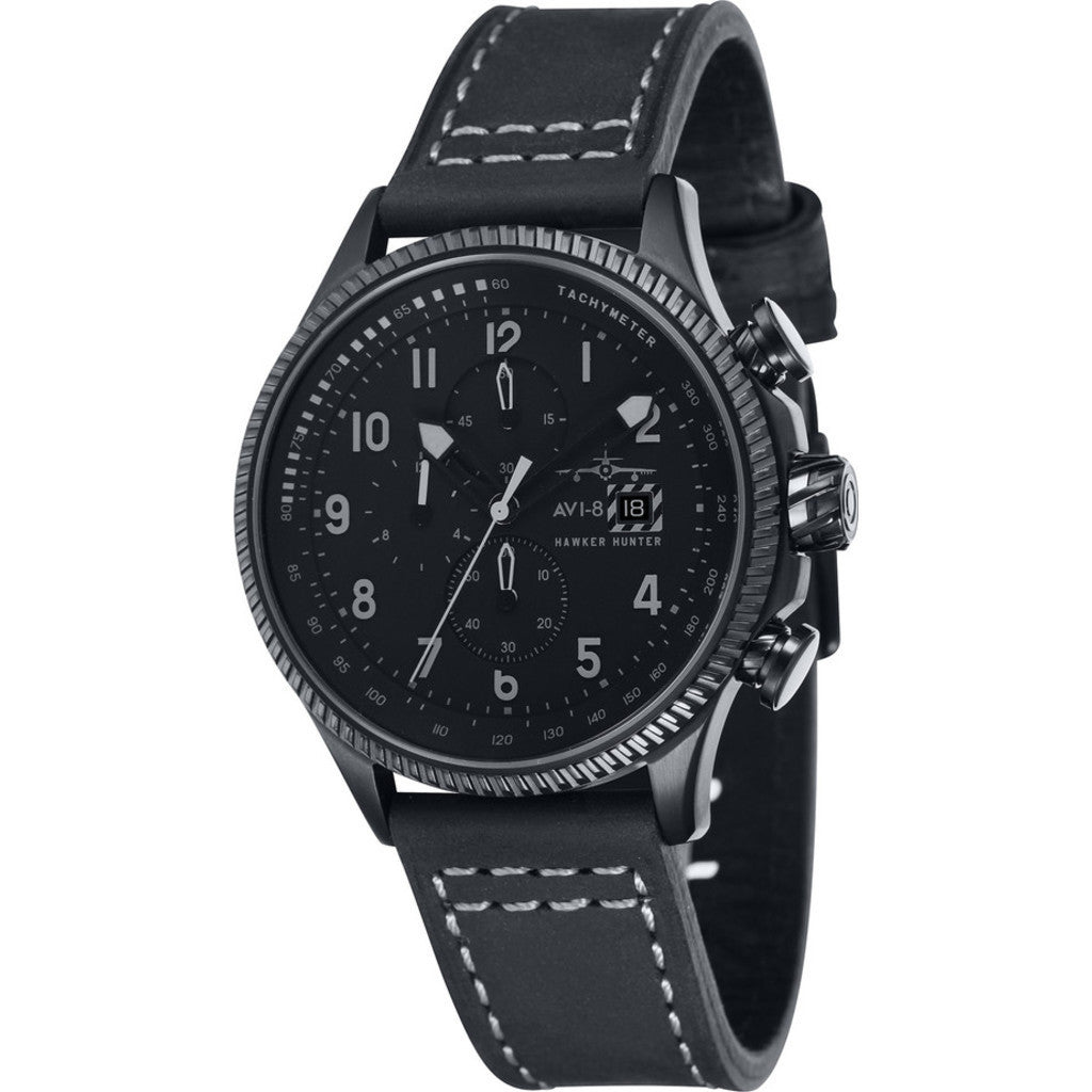AVI-8 Hawker Hunter AV-4036-05 Chronograph Watch | Black AV-4036-05