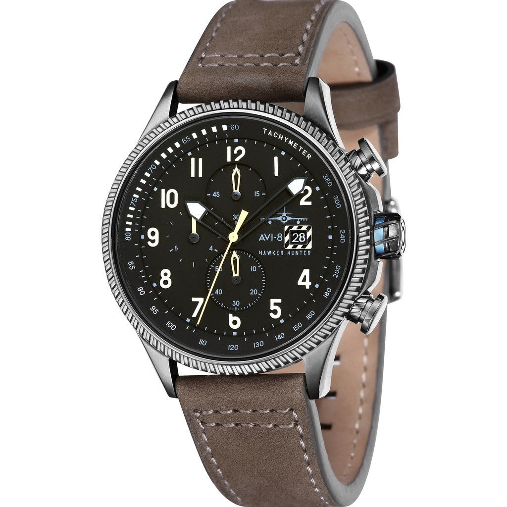 AVI-8 Hawker Hunter AV-4036-07 Watch | Brown AV-4036-07