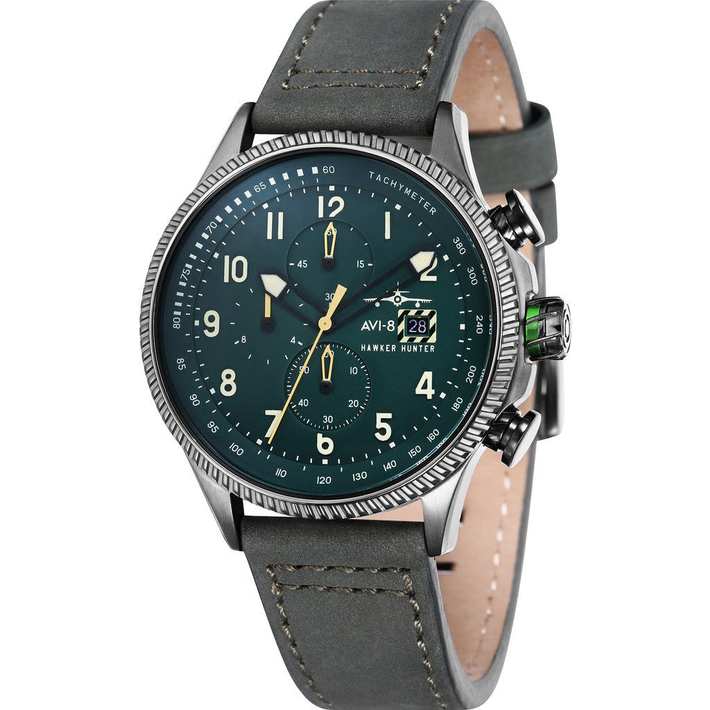 AVI-8 Hawker Hunter AV-4036-08 Chronograph Watch | Green AV-4036-08