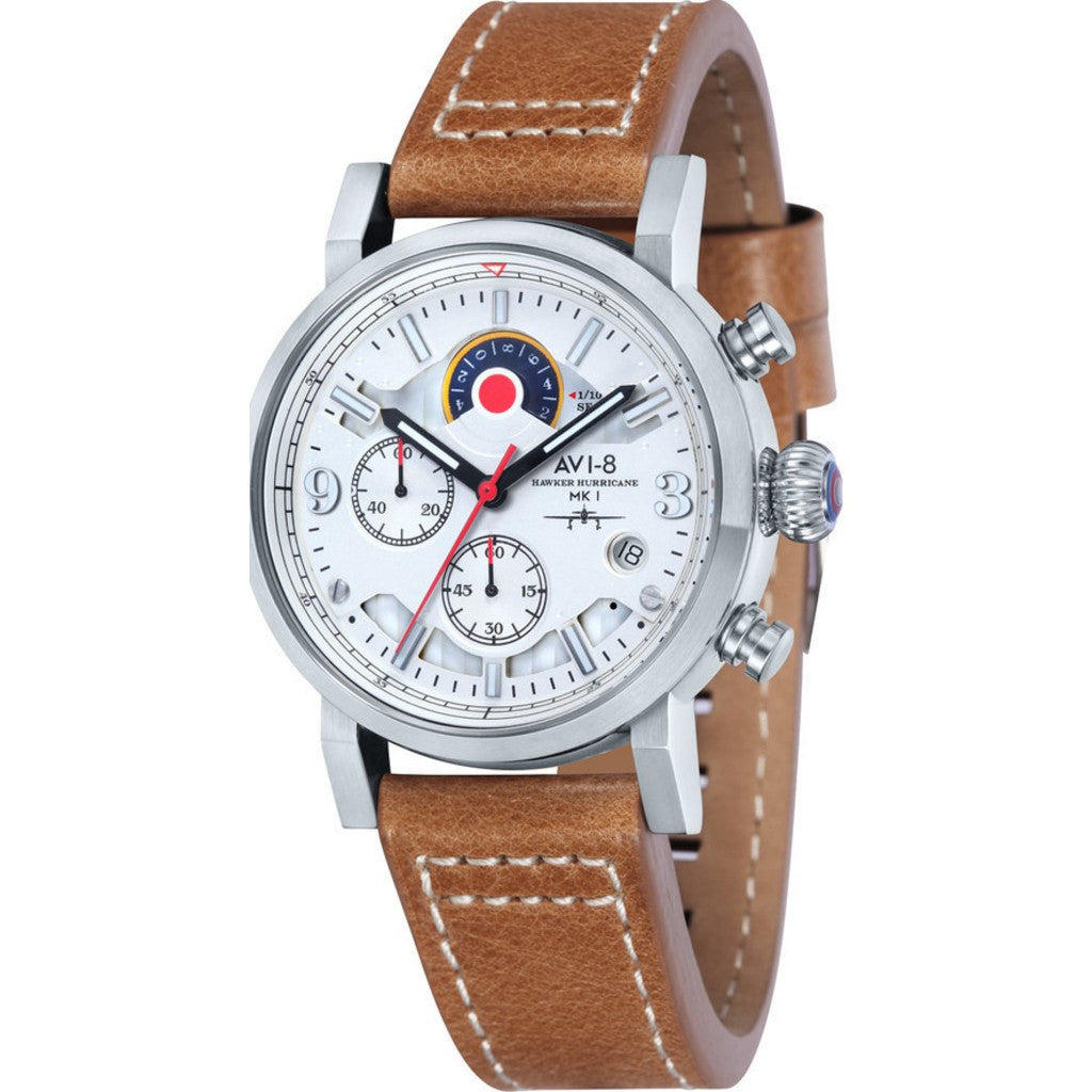 AVI-8 Hawker Hurricane AV-4041-01 Chronograph Watch | Tan AV-4041-01