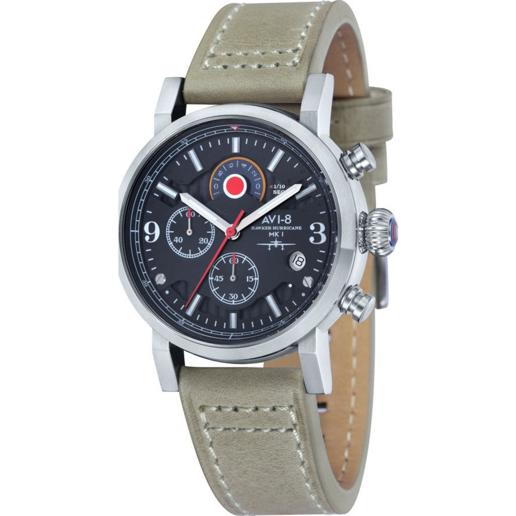 AVI-8 Hawker Hurricane AV-4041-02 Chronograph Watch | Stone AV-4041-02