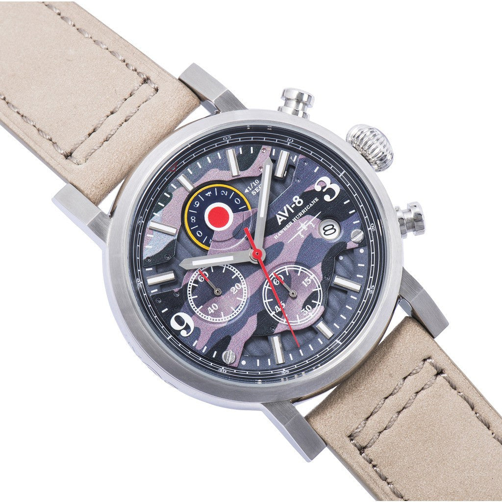AVI-8 Hawker Hurricane AV-4041-05 Watch | Beige AV-4041-05