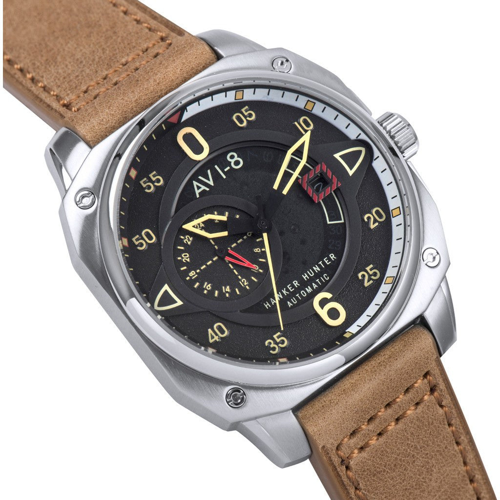 AVI-8 Hawker Hunter AV-4043-01 Automatic Watch | Tan AV-4043-01