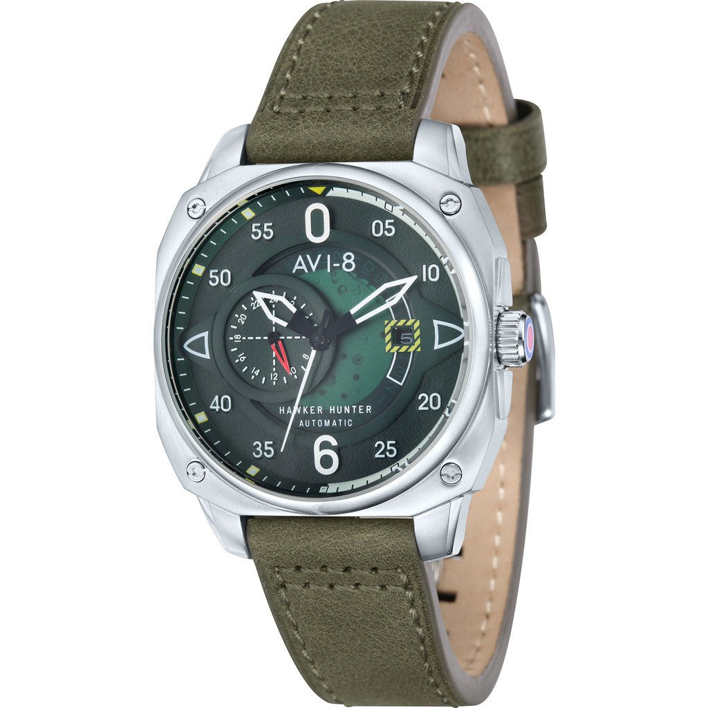AVI-8 Hawker Hunter AV-4043-02 Automatic Watch | Green AV-4043-02