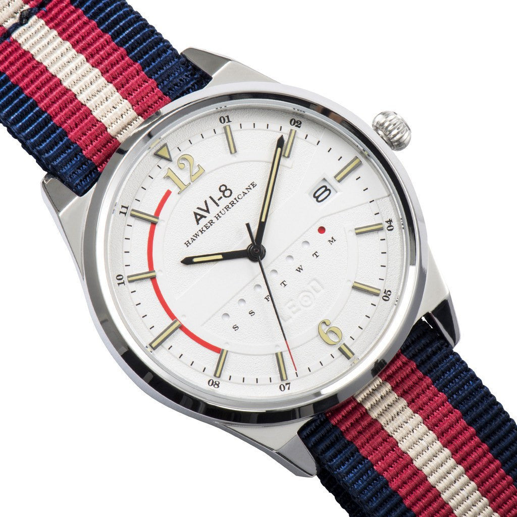AVI-8 Hawker Hurricane AV-4044-01 Watch | Stripes AV-4044-01