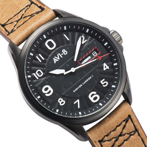 AVI-8 Hawker Harrier II AV-4045-04 Watch | Brown AV-4045-04